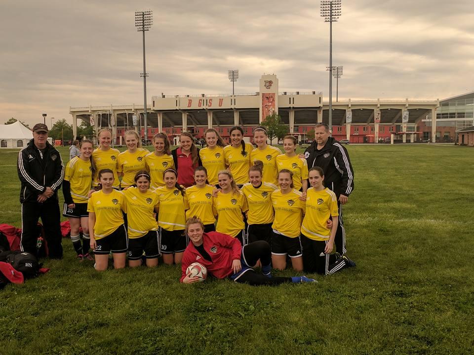 U17B Girls, Head Coach John Dimeck, Bowling Green Spring Soccer Challenge - CHAMPIONS